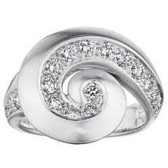 Van Cleef & Arpels Vintage Diamond Gold Ring