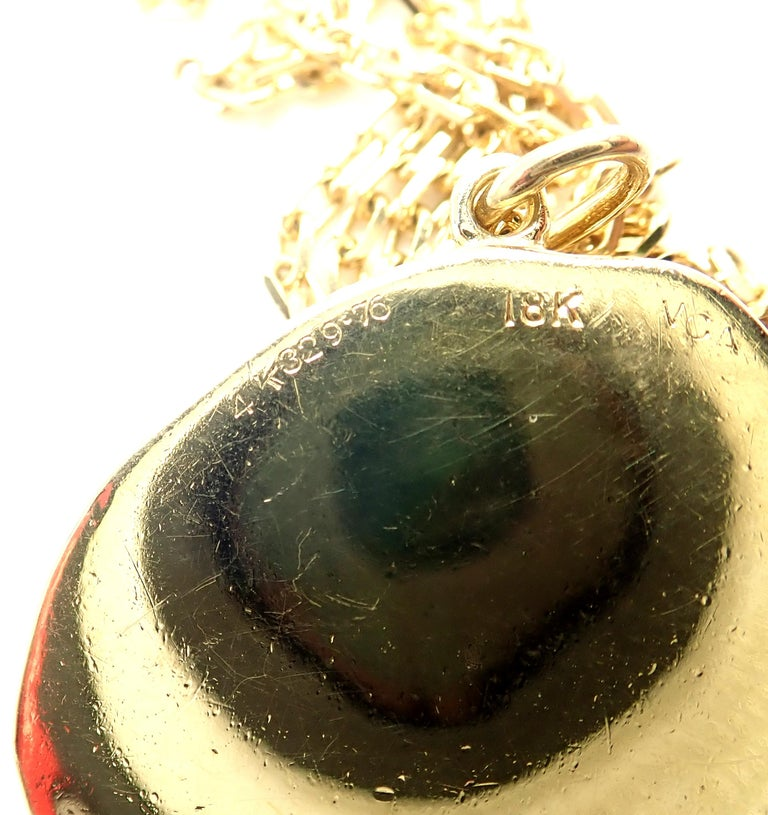 Van Cleef & Arpels Vintage Love Yellow Gold Pendant Necklace 1