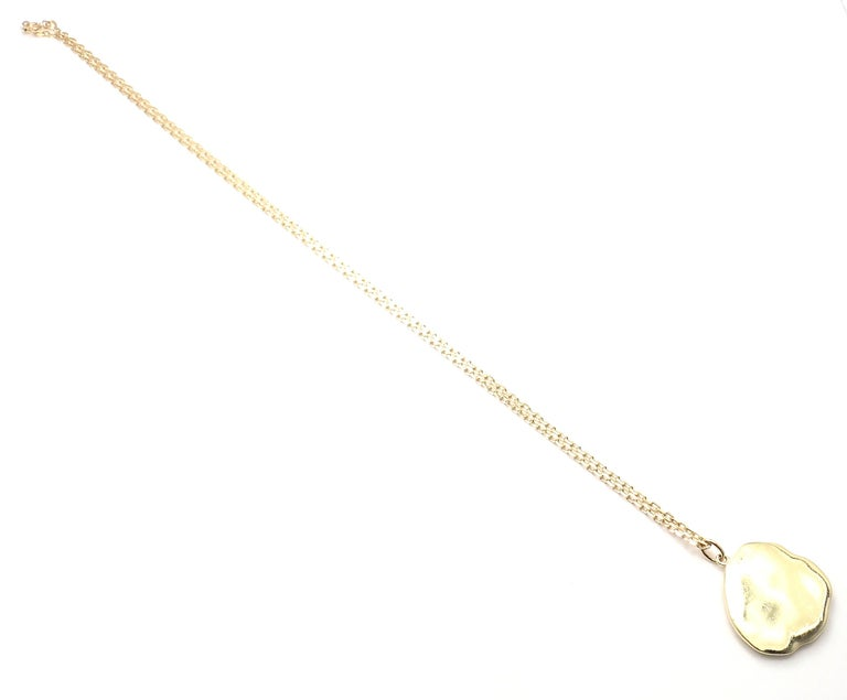 Van Cleef & Arpels Vintage Love Yellow Gold Pendant Necklace 3