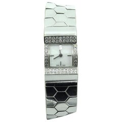 Van Cleef & Arpels White Gold and Diamond Ludo Swan Watch