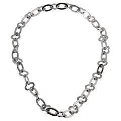 Van Cleef & Arpels White Gold Byzantine Necklace
