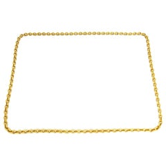 Van Cleef & Arpels Yellow Gold Chain Necklace