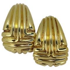 Van Cleef & Arpels Yellow Gold Clip-On Earrings