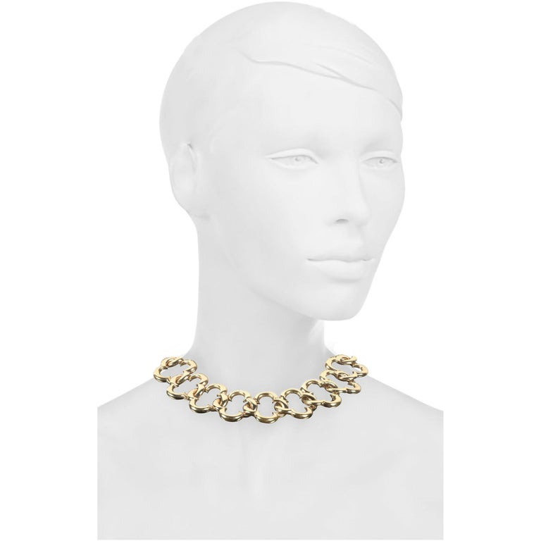 Van Cleef & Arpels Yellow Gold Collar Necklace 1