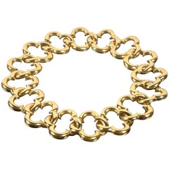 Van Cleef & Arpels Yellow Gold Collar Necklace