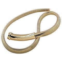 Van Cleef & Arpels Yellow Gold Collar Necklace
