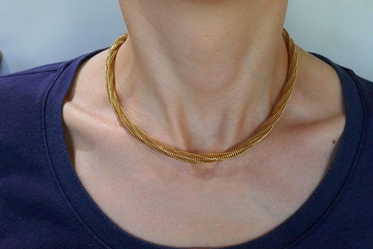 Van Cleef & Arpels Yellow Gold Necklace 1