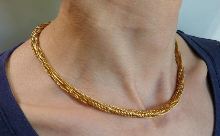 Van Cleef & Arpels Yellow Gold Necklace 2