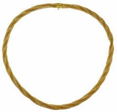 Van Cleef & Arpels Yellow Gold Necklace