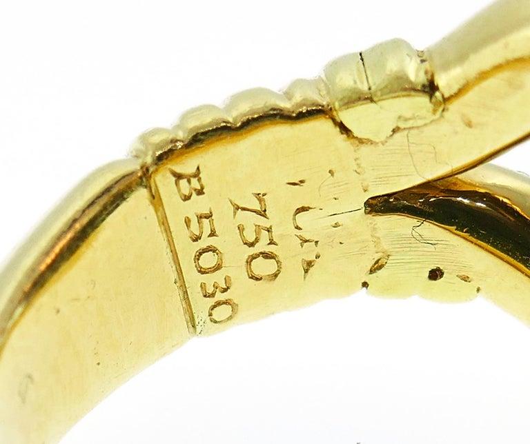 Van Cleef & Arpels Yellow Gold Ring, 1970s 6