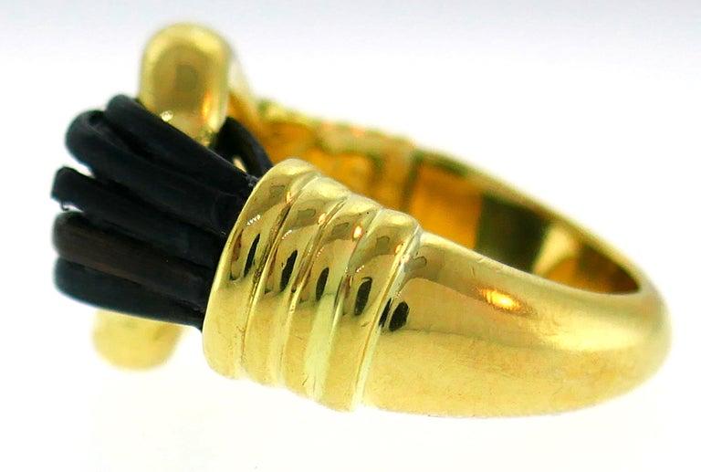 Van Cleef & Arpels Yellow Gold Ring, 1970s 1