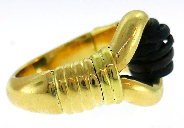 Van Cleef & Arpels Yellow Gold Ring, 1970s 2