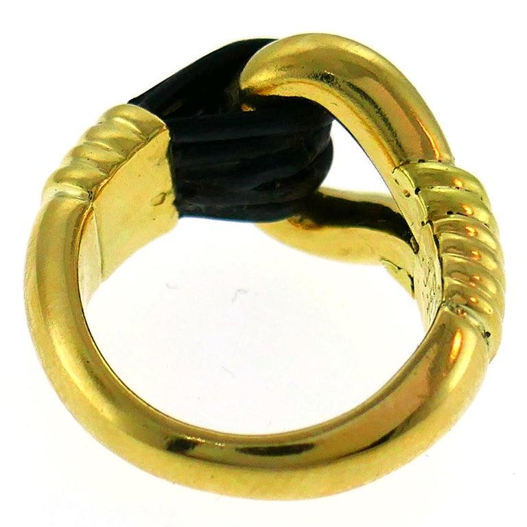 Van Cleef & Arpels Yellow Gold Ring, 1970s 3