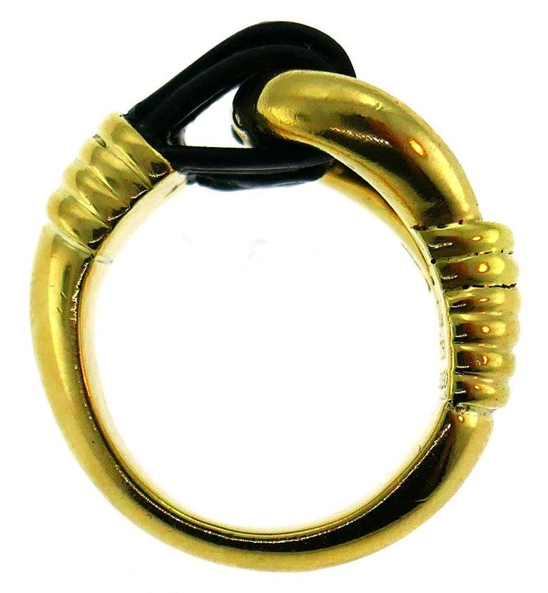 Van Cleef & Arpels Yellow Gold Ring, 1970s 4