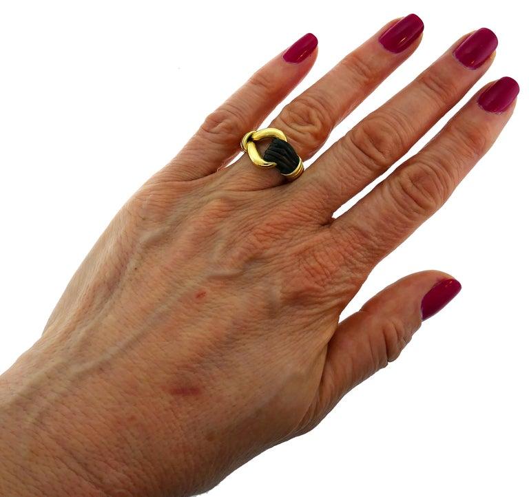 Van Cleef & Arpels Yellow Gold Ring, 1970s 5