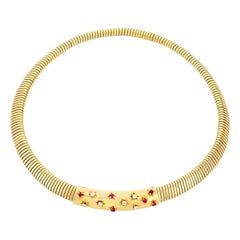 Van Cleef Retro Tubogas Necklace