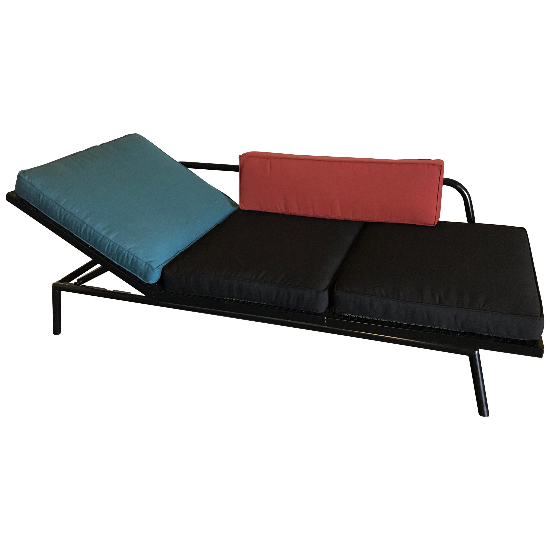 Van Keppel Green Sofa Chaise, 20th Century