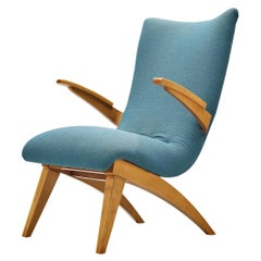 Van Os Culemborg Lounge Chair in Fabric Upholstery