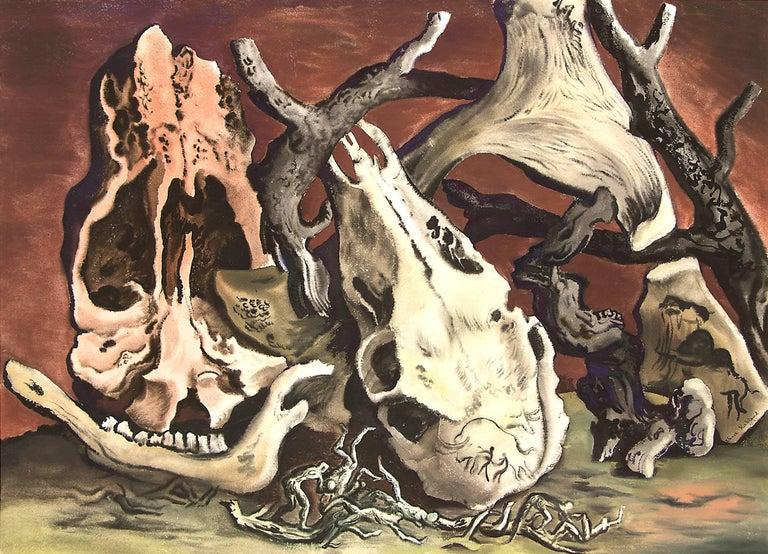 Untitled (Five Million Years Ago) - Art by Vance Kirkland