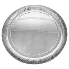 Vanderslice Sterling Platter