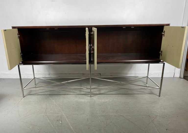 Mid-Century Modern Vanguard Furniture, Michael Weiss, Kingsley Sideboard / Contemporary Modern For Sale