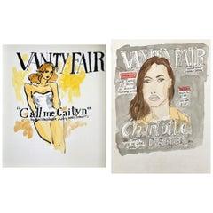 Vanity Fair Call Me Caitlyn Cover, and Charlotte Casiraghi in Vanity Fair, Set