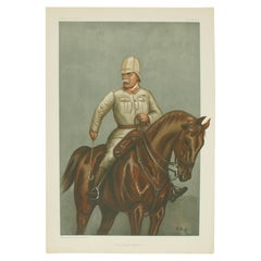 Vanity Fair, Military Print, the Cavalry Division