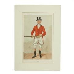 Vanity Fair, Red Coat Hunting Print, Alfred