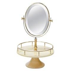 Vanity Mirror by Aldo Tura, Italy, 1960s