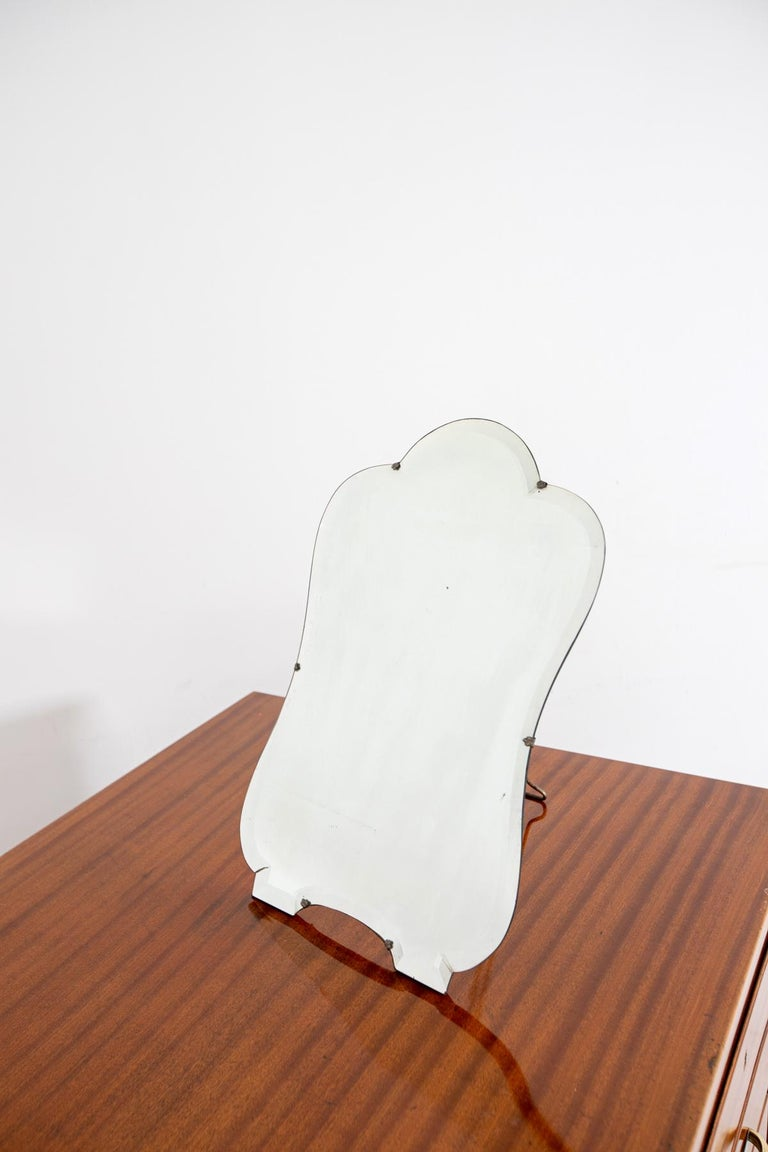 Vanity Mirror by Luigi Fontana for Fontana Arte, 1940 In Good Condition For Sale In Milano, IT