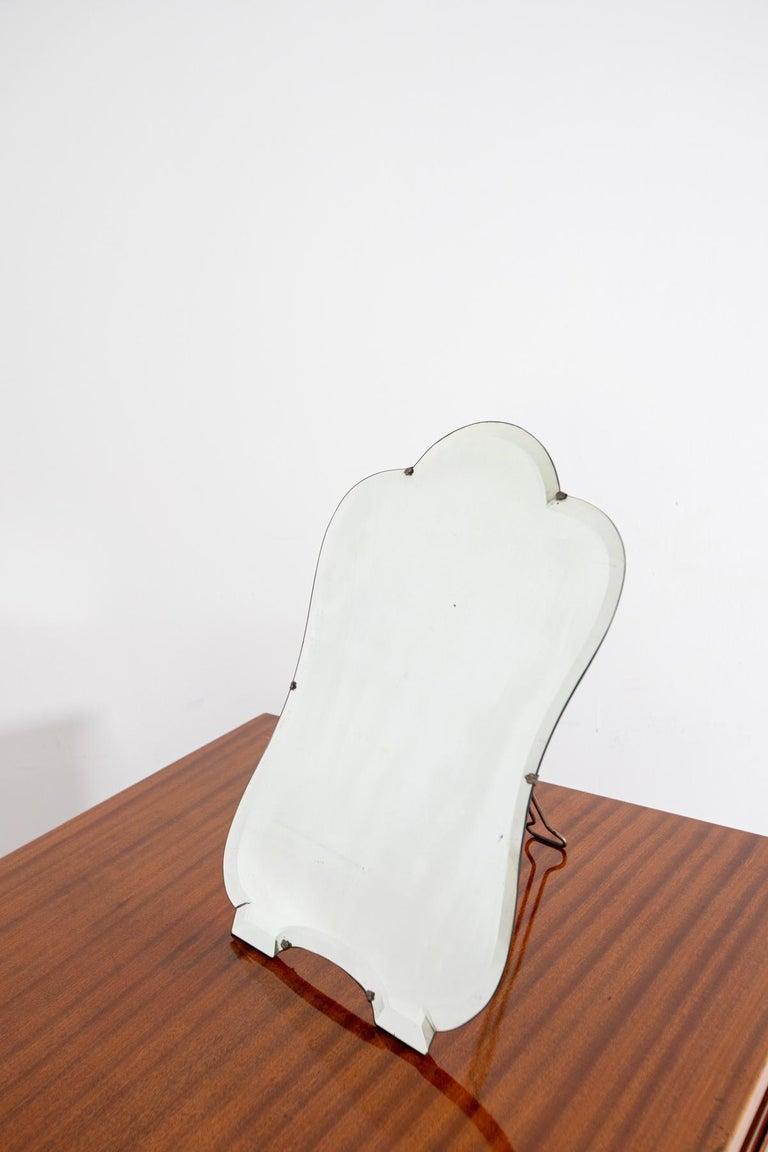 Vanity Mirror by Luigi Fontana for Fontana Arte, 1940 For Sale 1