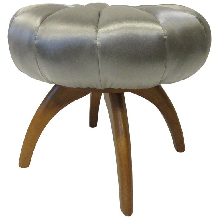 Vanity Pouffe / Stool by Heywood Wakefield for the Kohinoor Collection