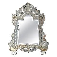Vanity-Top Venetian Mirror