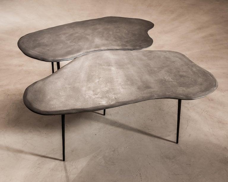 Belgian Varenna Table Trio by Studio Emblématique For Sale