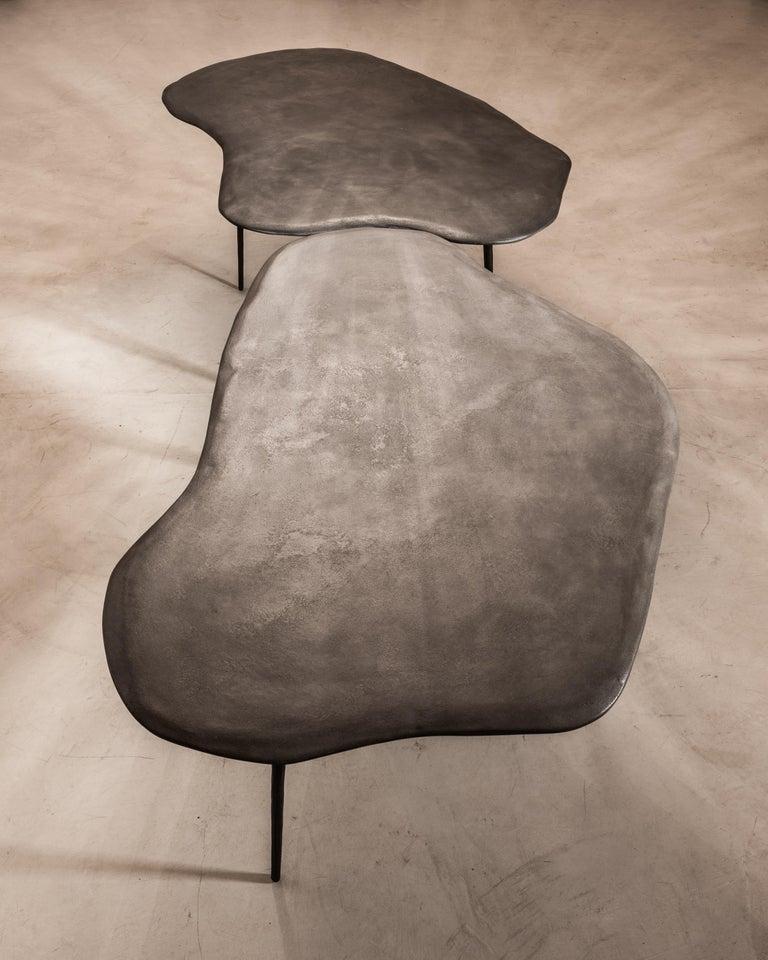 Contemporary Varenna Table Trio by Studio Emblématique For Sale