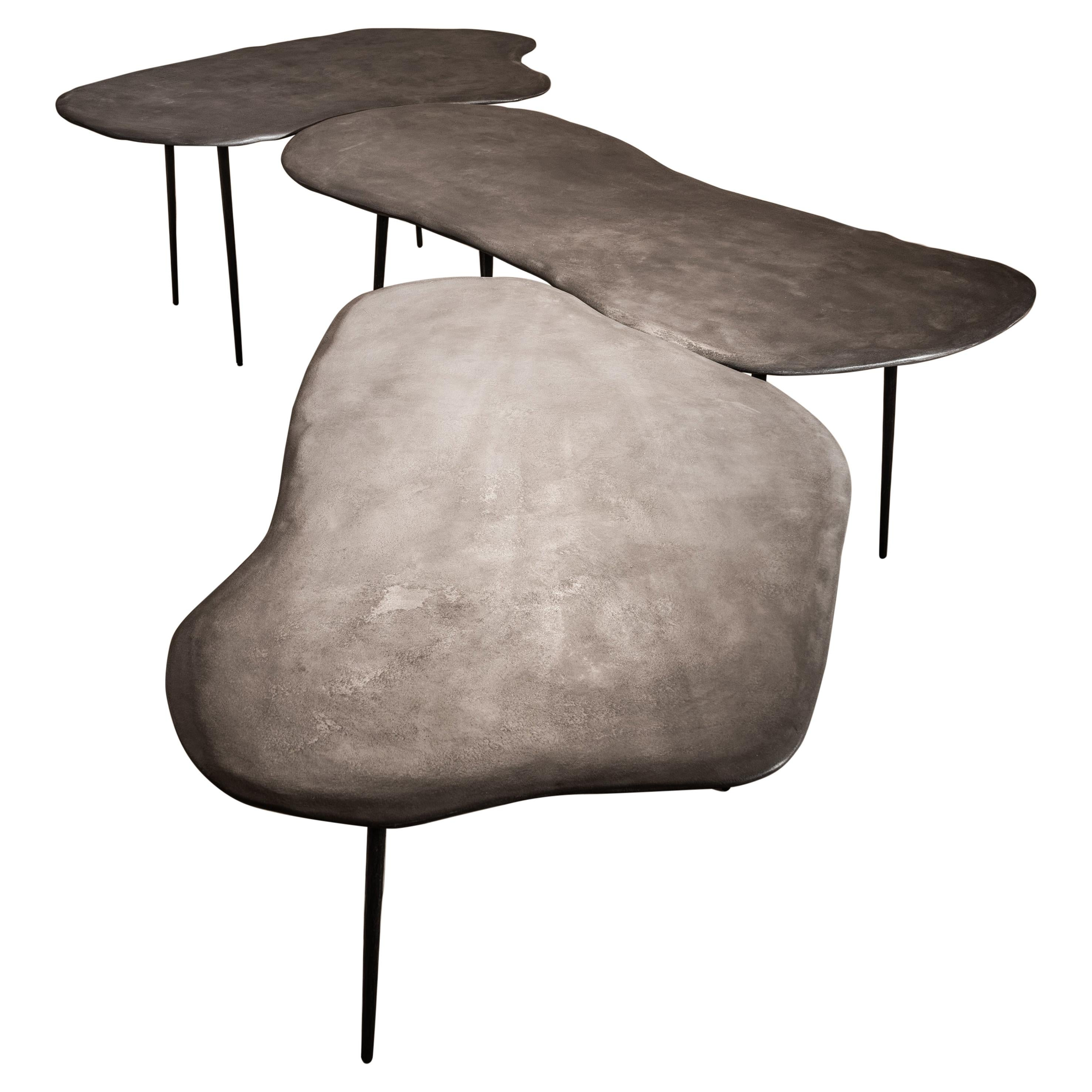 Varenna Table Trio by Studio Emblématique