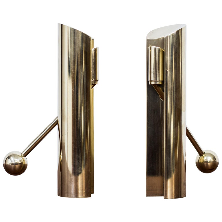 """""""Variabel"""" Candlesticks by Pierre Forssell, Sweden, 1960s"""