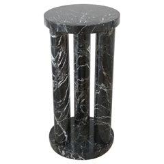 Varigated Green Marble Pedestal
