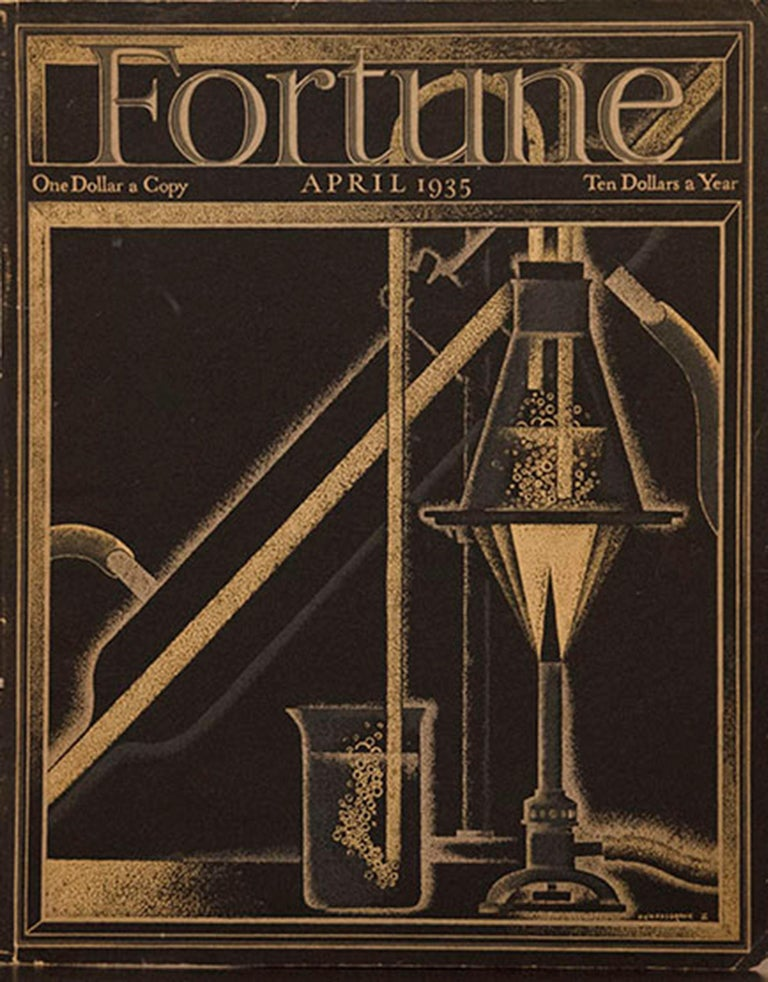 A Collection of 65 Original Fortune Magazine Covers 1931-1940 For Sale 5