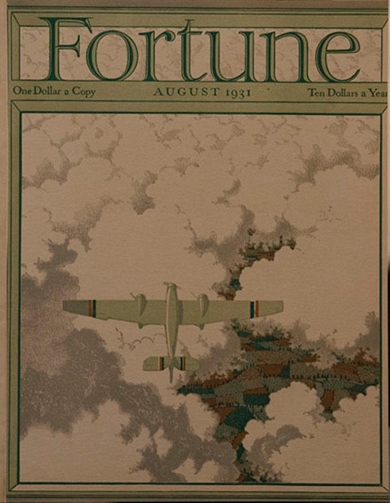 A Collection of 65 Original Fortune Magazine Covers 1931-1940 For Sale 6