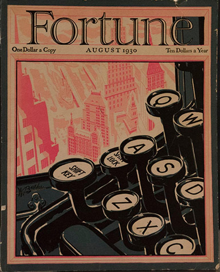 A Collection of 65 Original Fortune Magazine Covers 1931-1940 For Sale 7