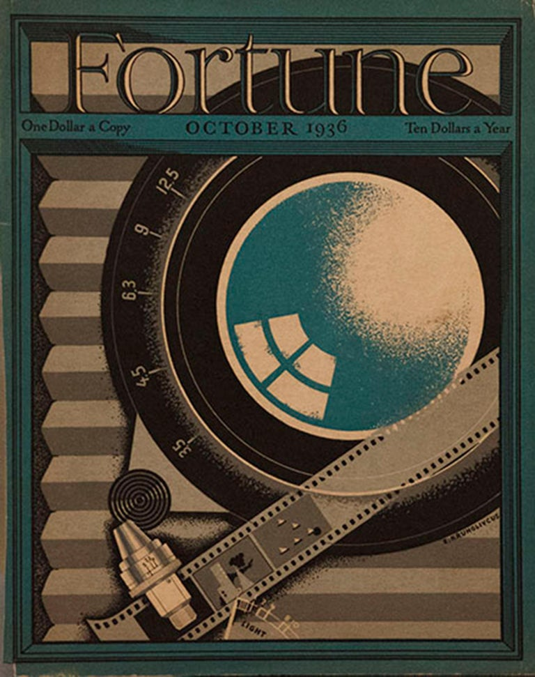 A Collection of 65 Original Fortune Magazine Covers 1931-1940 For Sale 1