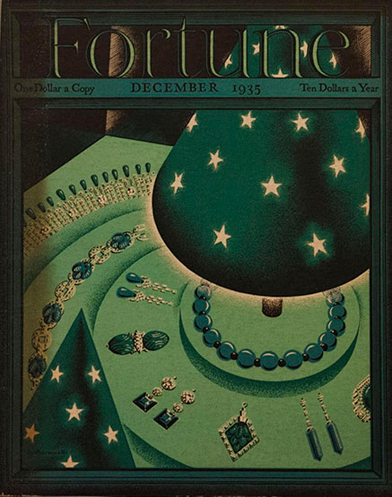 A Collection of 65 Original Fortune Magazine Covers 1931-1940 For Sale 3