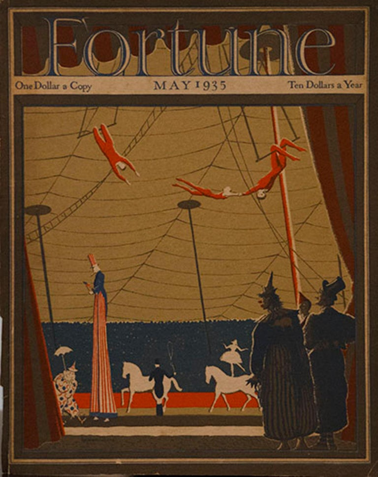 A Collection of 65 Original Fortune Magazine Covers 1931-1940 For Sale 4