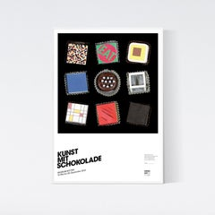Art with Chocolate - Kunst mit Schokolade - Modrian Klein Indiana Fontana Albers