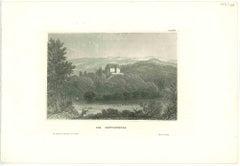 Die Bettenburg - Original Lithograph - Mid 19th Century