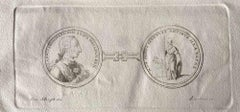 Frame from Ancient Rome - Original Etching by Various Masters - 1750s
