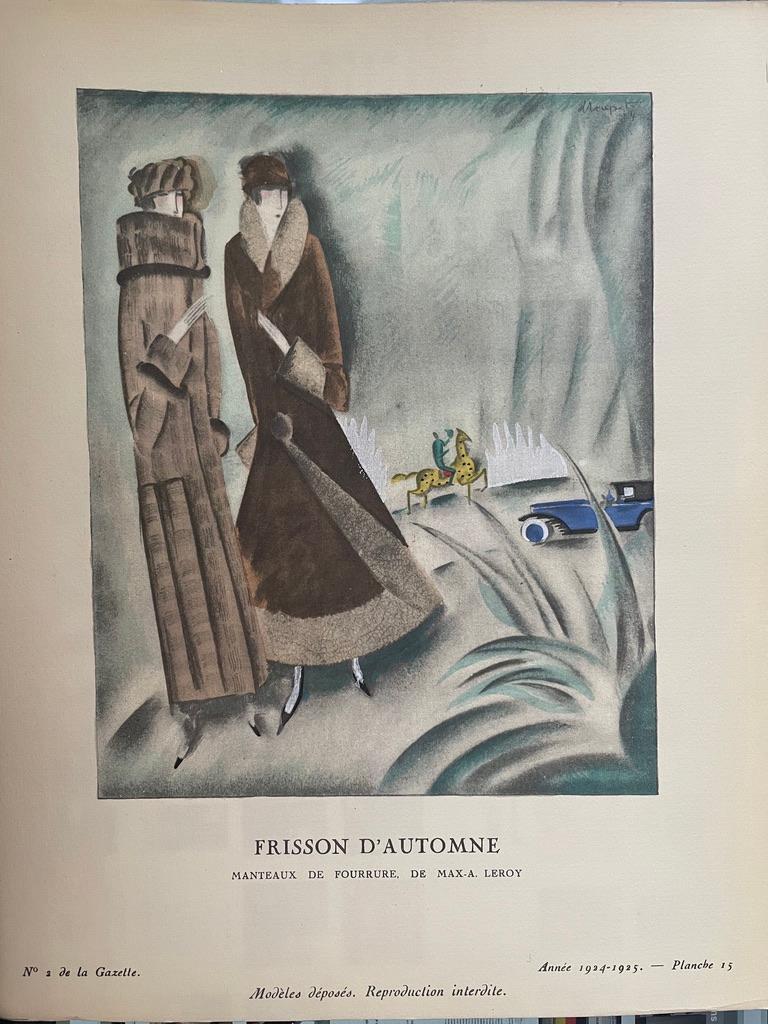 Gazette du Bon Ton- Complete - Art Deco Print by Various Artists