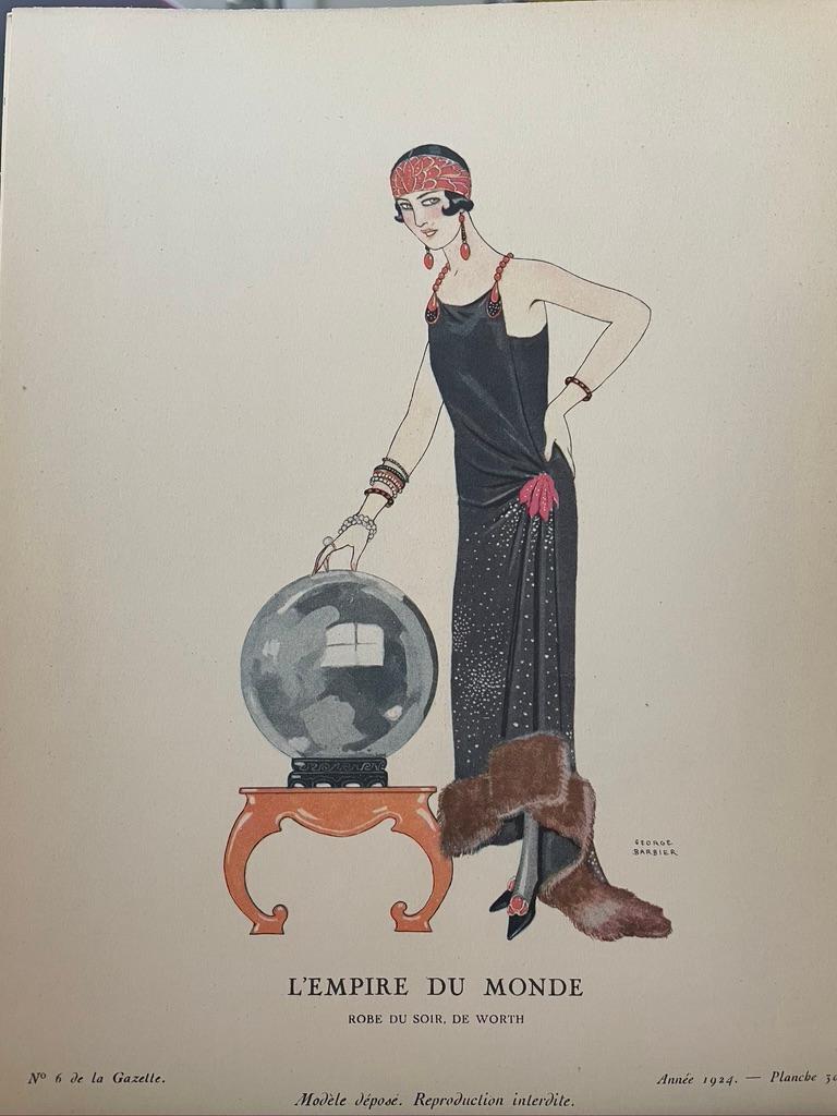 Various Artists Figurative Print - Gazette du Bon Ton- Complete