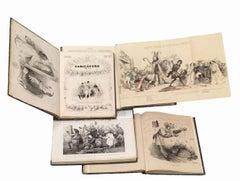 La Caricature Provisoire  - Complete Series 1838/1840 - 4 vol.
